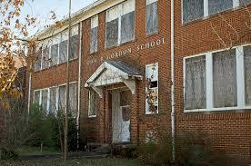 Old Picture of John B. Gordan Elementary before demolishing