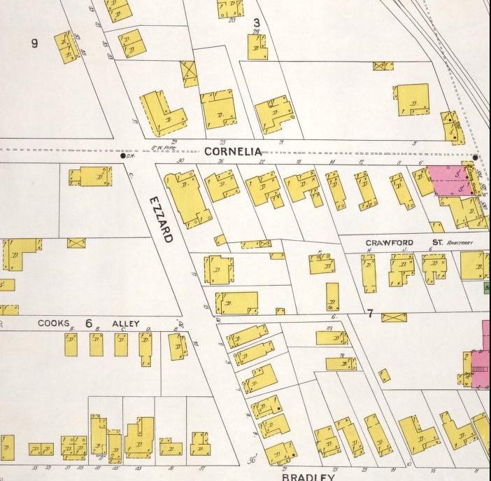 Cornelia St and Decatur St 1899