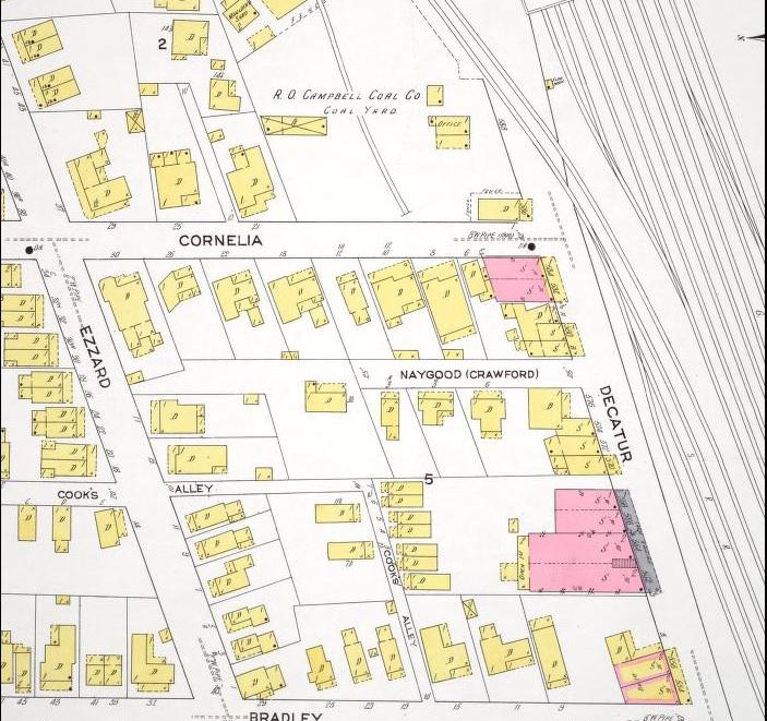 Cornelia St & Decatur St 1911