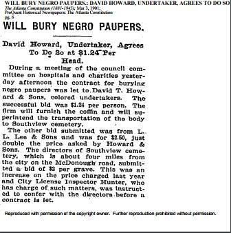 David T. Howard advertisment 3.3.1901