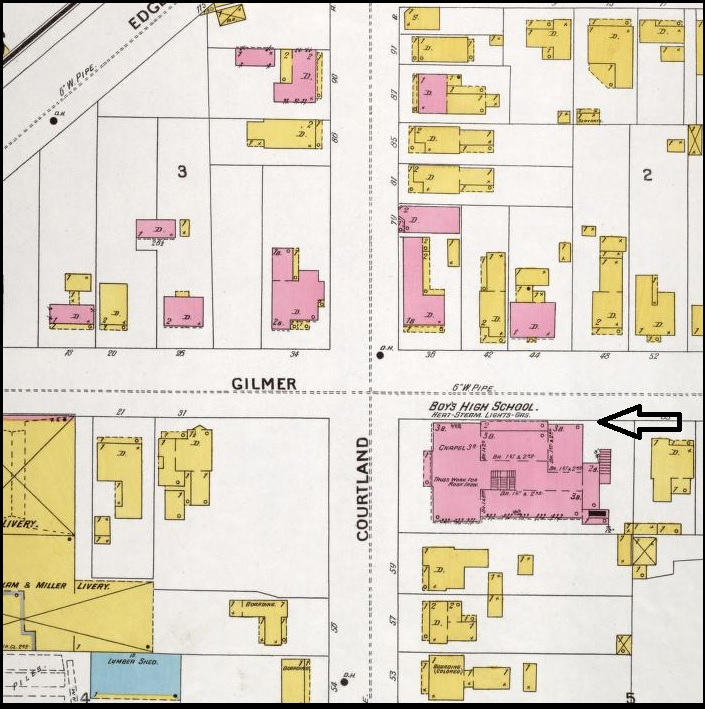 Boys High School_1899 Sanborn Map