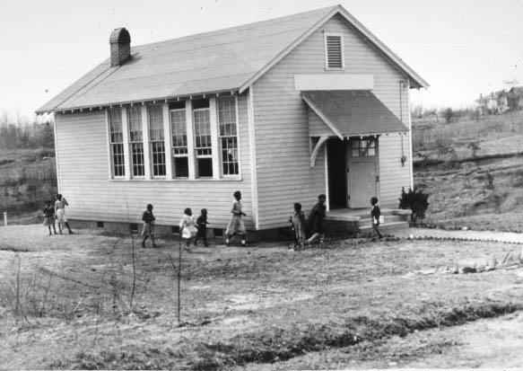 Center Hill School WPA built 1936