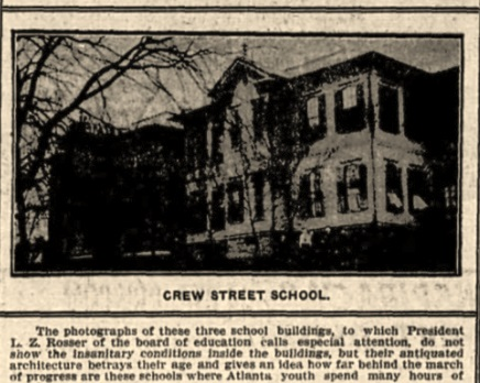 Crew Street School- Original Architecture