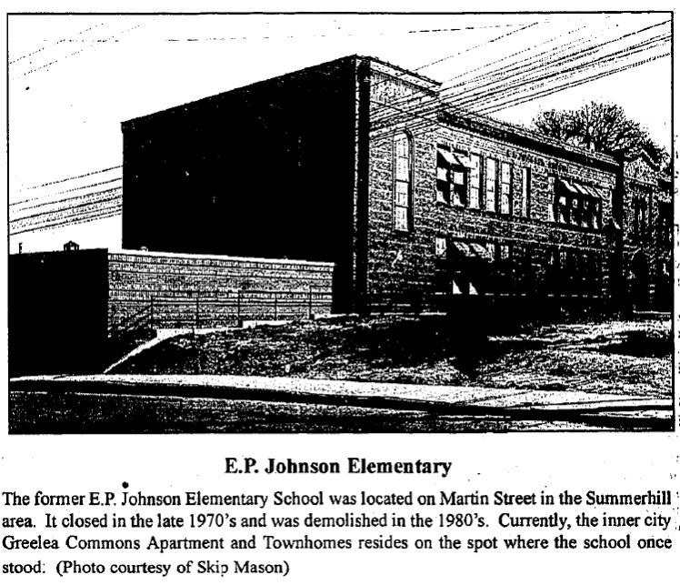 Pic of E.P. Johnson School