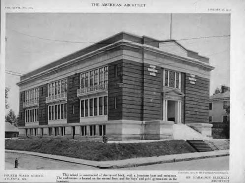 Boulevard School aka 4th Ward School Circa 1910