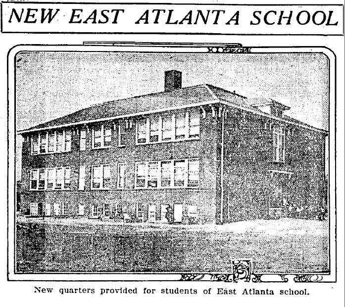 New East Atlanta School 1919